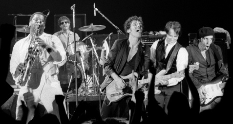bruce and band